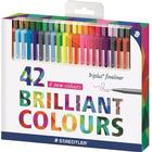 Staedtler Triplus Fineliner Color Pens 0.3mm 42-pack