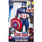 Hasbro Marvel Titan Hero Series Captain America Electronic Figure B6176