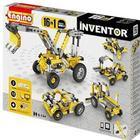 Engino 16-i-1 byggesæt - Inventor - Maskiner Konstruktionslegetøj med elementer til at bygge 16 maskiner