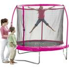 Toys R Us Pink 8ft Trampoline and Enclosure
