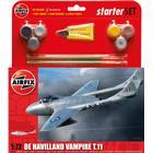 Airfix De Havilland Vampire T11 Starter Set A55204