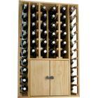WINEREX vinreol ESMA til 44 flasker + skab i bunden