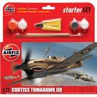 Airfix Curtiss Tomahawk IIB Starter Set A55101