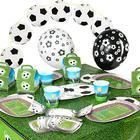 Partyset Soccer 62-tlg.