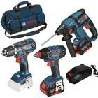 Bosch GSR 18 -2-LI PLUS + GDX 18 V-LI + GBH 18 V-EC