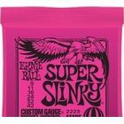 Ernie Ball Super Slinky, Guitar, Stål, Elektrisk, 6 stk