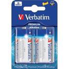 Verbatim batterier, D(LR20),