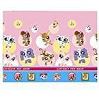 Hasbro Plastic Littlest Pet Shop Tablecloth, 1.8m x 1.2m
