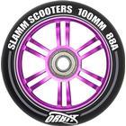 Slamm 100 mm. Orbit Wheels Purple