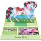 Melissa & Doug Magnetisk Utklädningsdocka Häst