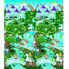 Prince Lionheart Large Reversible Playmat - City amp; Fantasyland