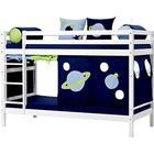 Hoppekids Basic våningssäng - Space sängpaket 90 cm, 200 cm Hoppekids