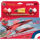 Airfix RAF Red Arrows Gnat Starter Se A55105