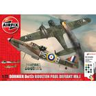 Airfix Boulton Paul Defiant Mk 1 Dornier Do17z Dogfight Doubles Gift Set A50170