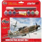 Airfix Boulton Paul Defiant Mk I Starter Set A55213