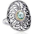 Pandora Pearl Spinel Silver Ring - Size L 190885SSG-52