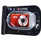 Carat Electronics original Carat electronics Outdoor/ / Unterwasser/Kamerartasche für Canon PowerShot SX240HS, SX260HS, Casio Exilim EX/ZR20, ZR200, Fuji Finepix F660EXR, T350, T400, Nikon Coolpix P310, S6300, Olympus SH/21, VR/340, VR/360, Panasonic Lumix DMC/TZ25, TZ31,