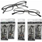 Sorte Læsebriller m. plastik stel & metal - 2 stk