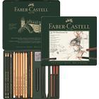 Faber-Castell PITT Monochrome Tin of 21