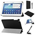 Stuff4 PU Leather Slim Folding Multi Position Case with Tri Fold Stand for 7 inch Samsung Galaxy Tab 3 - Black