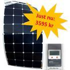 100W SunBeam System Flexibel Solpanel - paketpris!