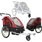 North 13.5 Roadster Cykelvagnspaket, Red