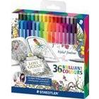 Staedtler Triplus Fineliner Color Pen 36-pack