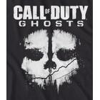 Call Of Duty Ghosts Xbox 360 Ps3 Pc T-Shirt Top Shirt Logo Skull Mens