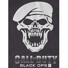 Call Of Duty Black Ops 2 Xbox 360 Game Skull Soldier T-Shirt - Gray -