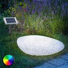 Esotec Udendørsvæglampe med solcelle-LED´er Stone 40