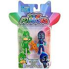 Disney Junior PJ Masks Figurer - Gekko & Night Ninja