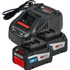 Bosch GAL 1880 CV Laddare + 2st 18V 6,3Ah EneRacer Batterier