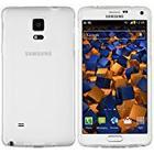 mumbi TPU Schutzhülle für Samsung Galaxy Note 4 Hülle transparent weiss