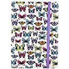 Trendz Universal Patterned Case with Built-In Stand and Closing Strap for Tablets - 9-10 Inches, Butterfly