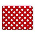 Pat Says Now 25.5x20.0cm Pouch for iPad - Red Polka Dot