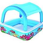 Bestway Canopy Play Paddling Pool - 58 x 58 x 48 Inches