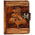 """A Little Present """"Oak Tree Decoration"""" Leather Case Cover for 8.9-Inch Kindle Fire HD/Samsung Galaxy Tab and LG Optimus Pad"""