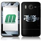 MusicSkins The Black Eyed Peas Logo Skin for HTC Desire HD