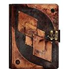 A little Present Diamond Pattern On A Vintage Leather Cover Case for Kindle 3/Kindle Keyboard/Kindle/Kindle HDX