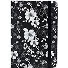 Trendz Patterned Protective Universal Folio Case Cover with Built-In Stand and Closing Strap for 7 Inch Tablets and E-Readers Compatible with iPad Mini, Google Nexus 7, Samsung Galaxy Tab 3 7.0, Kindle Fire HD 7 inch and Tesco Hudl - Floral