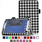 Fintie Folio Classic Leather Case for 7 inch Samsung Galaxy Tab 3 - Houndstooth Black