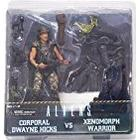 "NECA 51396 ""Aliens Hicks vs Battle Damaged Warrior"" Action Figure (Pack of 2)"