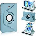 Tedim Wallet Flip with 360 Degree Rotational Stand/Case/Cover/ for 7 inch Samsung Galaxy Tab - Blue