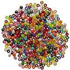 Artstraws Art Straws CT2354 Assorted Pony Beads in Glittering and Bright Colours