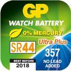Klockbatteri 303/357/AG13/SR44 GP Ultra Plus