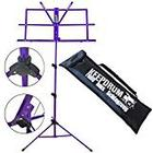 Keepdrum MUS2 FL Music Stand Purple Lavender Easy to Assemble and Bag