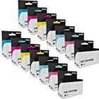 Prestige Cartridge High Yield Compatible Ink Cartridges for Epson T0807 Series - Assorted (Set of 14)