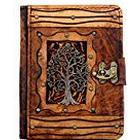 """A Little Present """"Tree of Life Pendant"""" Leather Case Cover for 8.9-Inch Kindle Fire HD/Samsung Galaxy Tab and LG Optimus Pad - Vintage"""