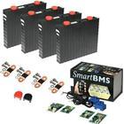 Lithium-Ion batterier(LiFePO4) 3,2V celler 40-1000 Lithium-Ion batteri(LiFePO4) 12V/300Ah. Komplett kit med Bluetooth övervakning!