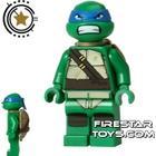 FireStar Toys LEGO Teenage Mutant Ninja Turtles Mini Figure - Leonardo - Bared Teeth